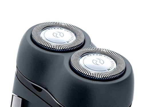 フィリップスポータブルシェーバーメンズ電気シェーバー乾電池式ブラックPQ209/17