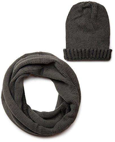 styleBREAKER Packs bonnet, écharpe et gants femme