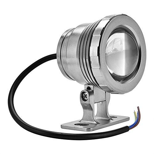 Bombilla LED Sumergible Iluminación de Piscinas LED, Luz LED Piscina con Control Remoto Submersible Luz con Mando a Distancia Cambio de Color RGB LED Luz Sumergible (Silver)