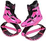 Wxnnx Ragazzi Ragazzi Ragazze Salta Scarpe Scarpe da Rimbalzo, Stivali da Corsa antigravità, Scarpe da Salto Fitness Unisex Scarpe da Rimbalzo,C,42~44