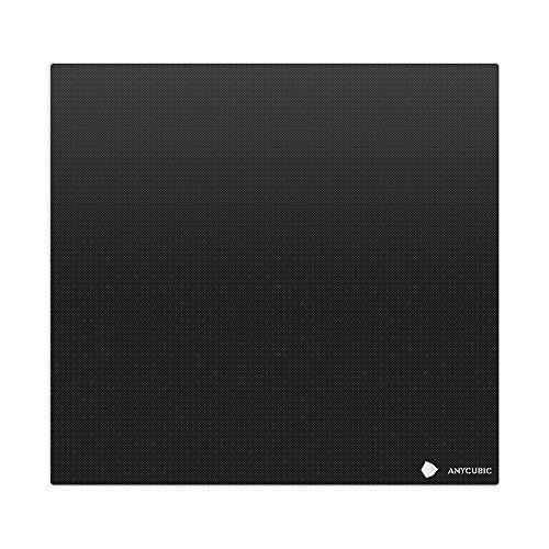 ANYCUBIC 3D-Drucker-Glasbett für Mega X Empered Glass Beheiztes Bett Glasplatte Build Surface Build Plate für ANYCUBI Mage X 300 x 300 mm