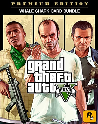 "Grand Theft Auto V Premium Edition & CashCard ""Walhai"" im Bundle   PC Code"