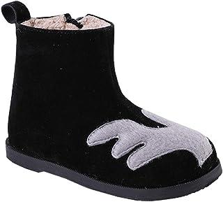 [テンカ] ショートブーツ 子供 スノーシューズ 冬靴 防寒 防滑 短靴 アウトドア 保暖 通気 ウィンターブーツ スノーブーツ 歩きやすい 女の子 キッズ 綿靴 男の子 赤ちゃん 保温 通学 外出 男女兼用