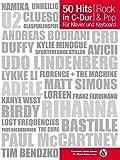 50 Hits in C-Dur für Klavier und Keyboard Rock & Pop: Songbook