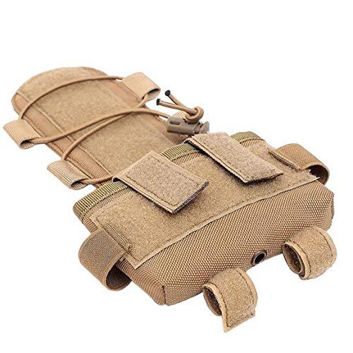 Odoukey Bolsa de contrapeso Bolsa de contrapeso Casco de Pistola de Aire de la batería Casco táctico Casco General de la Bolsa de NVG Accesorio de la batería