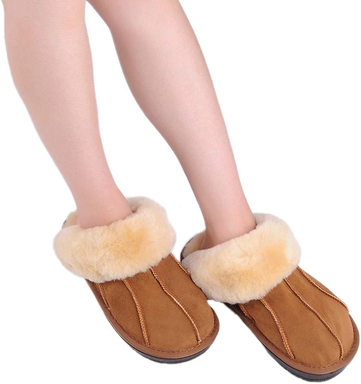 Nafanio Spring Sheepskin Home Slippers Man Slipper Summer Fashion Korean Indoor Air Condition Winter Cozy shoes