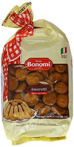 Forno Bonomi Amaretti 500g (italienisches Kaffee-Gebäck mit Aprikosenkernen)