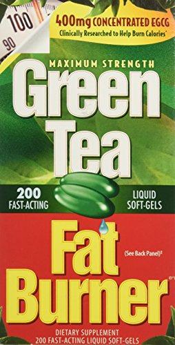 Applied Nutrition Green Tea Fat Burner with EGCG Single & Multi Pack (Two Bottles each of 200 Soft-Gels)