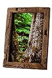 Bilderrahmen Alt-Holz aus alter Eiche – Vintage /