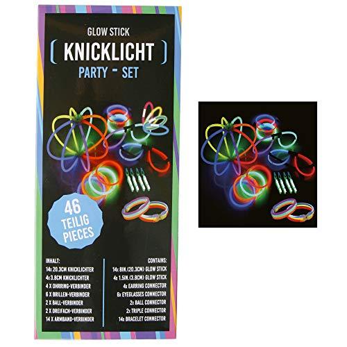 Roomando Knixxy - Juego de Barras Luminosas para Fiestas (46/92 Piezas