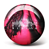 Pyramid Path Rising Bowling Ball (Black/Hot Pink, 8lb)