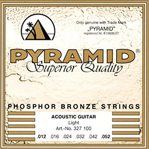 12-52 x einzelne leicht aufgewickelte akutsitsche Gitarrensaiten, Phosphorbronze, 12-52