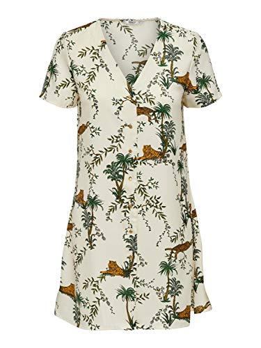 Only Vestido Corto ONLELVINA S/S Short Dress WVN para Mujer Mujer