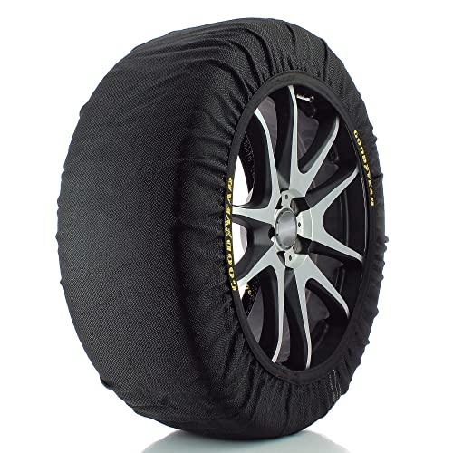 Goodyear 10645 Chaînes à neige en textile pour voiture Taille XXL avec Ö-Norm V5121