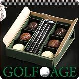 【最高級チョコレート使用】【GOLF AGE】ゴルフボールチョコS