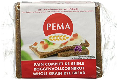 PEMA Pain Wollkorn Seigle Complet 500 g - Lot de 3