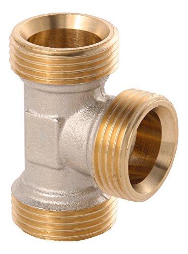 WIROFLEX | T-Stück | Klemmring | Schraubsystem | Fitting | 3/4 A | Für Mehrschichtverbundrohr