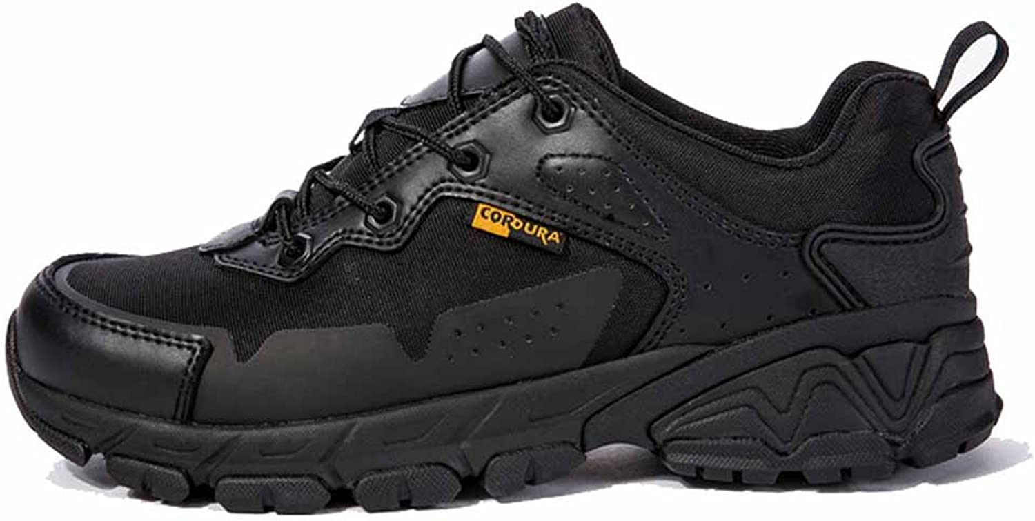 GLSHI Men Ultra Light Breathable Tactical Boots Commando Low-combat Combat Boots Field Hiking Outdoor shoes