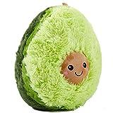 Amajoy 20cm Weiches PlüschKissen niedlich Avocado Kissen Dekorative Kissen für