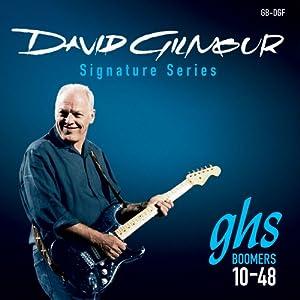 Juego de 6 cuerdas Con la signatura de David Gilmour Cuerdas 010-012-016-028-038-048 Adecuadas para guitarra eléctrica