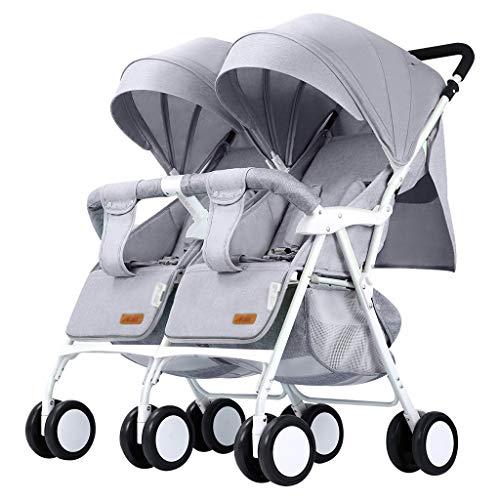 Review Of OCYE Double Stroller, Twin Tandem Baby Stroller, Adjustable backrest, Oversized Sleeping B...