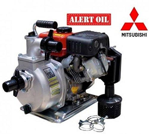 KOSHIN SEM-40G – 270 l/min | zelfaanzuigende benzinepomp SEM-40G met Mitsubishi GT-241 4-takt motor, maximale hoogte van 32 meter en maximale debiet van 16.200 l/h alarm op oliepeilbasis