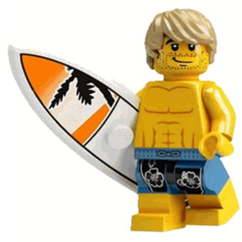 LEGO Minifigure Collection Series 2 LOOSE Mini Figure Surfer Dude by LEGO
