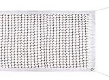 SIVENKE Filet de badminton - En nylon - Pour tournoi - Pour l'intérieur et l'extérieur - 610 x 76 cm - Rouge - Sans armature