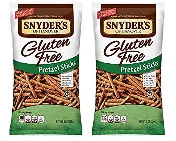 Snyder s of Hanover All Natural Gluten-Free Pretzel Sticks  Pack of 2