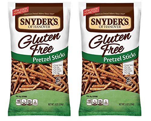 Snyder's of Hanover All Natural Gluten-Free Pretzel Sticks (Pack of 2)