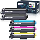 OfficeWorld Cartuccia Toner TN-247 TN-243 Sostituzione per Brother TN247 TN243 per Brother MFC-L3730CDN MFC-L3750CDW, Brother HL-L3210CW HL-L3230CDW HL-L3270CDW, Brother DCP-L3550CDW DCP-L3510CDW