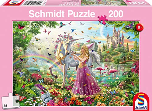 Schmidt Spiele 56197Schöne Hada En El Bosque Mágico Puzzles, 200Piezas