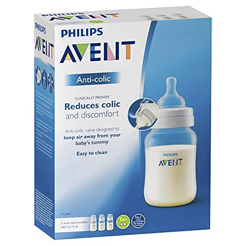 Philips AVENT SCF813/37 Anti-colic Flasche 260ml dreier, transparent