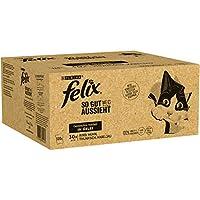 FELIX Katzennassfutter So gut wie es aussieht in Gelee Gemischte Vielfalt mit Kabeljau 120x 85 g