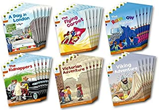 Oxford Reading Tree: Stage 8: Stories: Class Pack of 36