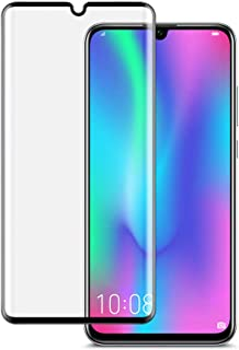 P30 Pro Screen Protector, Full Screen Tempered Glass Film 3D Curved Anti-Bubble Ultra HD Tempered Glass Case Friendly Scre...