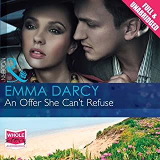 An Offer She Can't Refuse                   By:                                                                                                                                 Emma Darcy                               Narrated by:                                                                                                                                 Nicolette McKenzie                      Length: 5 hrs and 10 mins     10 ratings     Overall 3.7