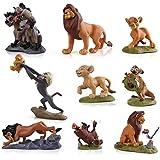 EASTVAPS 9pcs Roi Lion Simba Nala Timon Modèle Figurine PVC Jouets