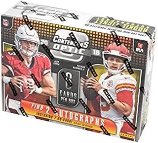 2018 Panini Contenders Optic NFL Football HOBBY box (6 cards)