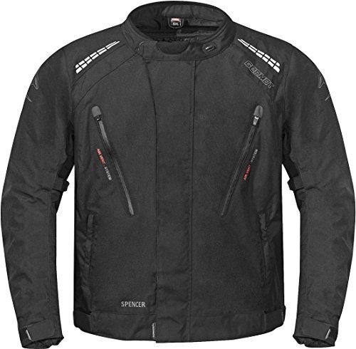 Germot Spencer Übergröße Motorrad Textiljacke 3XL