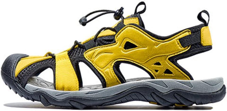 USDBE Summer Breathable Sandals Men Outdoor Hiking Shoes Beach Platform Sandals Male Walking Shoes