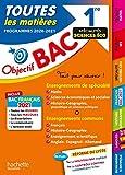Objectif Bac 1re Enseignements communs + Spécialités Maths-SES-Histoire-Géo BAC 2021
