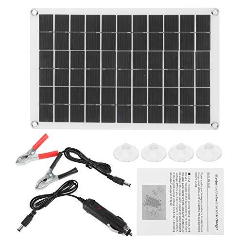 Módulo Solar, Panel Solar portátil de 12 / 24V 100W, Panel Solar de 100W, Panel de célula Solar portátil monocristalino para recargar teléfonos