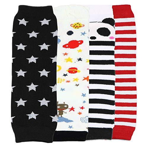 Dotty Fish - multipack niño y niño todoterreno - Niñas y niños - Packs de 4 con diseños divertidos y coloridos