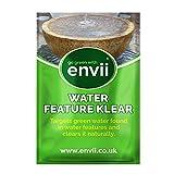 envii Water Feature Klear – Tratamiento Algas para Fuentes, Quita Verde &Limpia Trabaja con temperaturas de 4°C – 12 Meses