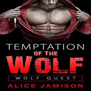 Wolf Quest: Temptation of the Wolf audiobook cover art