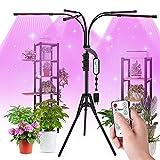Aogled LED Cultivo Interior 50W,150LED Lámpara de Planta con...
