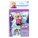Frozen Disney Elsa y Anna - Juego de papelería escolar para niñas