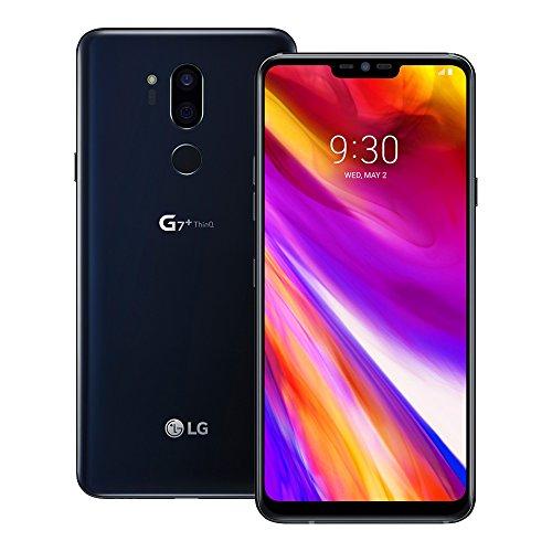 LG G7 Plus ThinQ (LM-G710EAW) 6GB/128GB 6.1-inches LTE Dual SIM Factory Unlocked - International Stock No Warranty (Aurora Black)