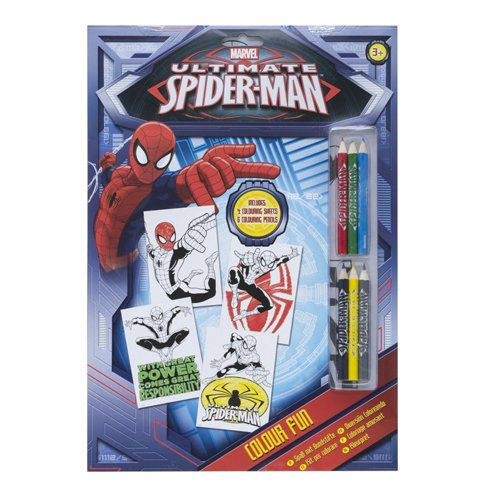 Marvel - Ultimate Spiderman Colour Fun